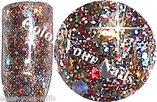 5g Farb Acrylpuder Carnival in Venive. Multicolor,Glitter, Pailletten.Nailart. Acryl Modellage Color Your Nails
