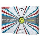 Callaway 2017 Supersoft Golf Balls (One Dozen) Yellow
