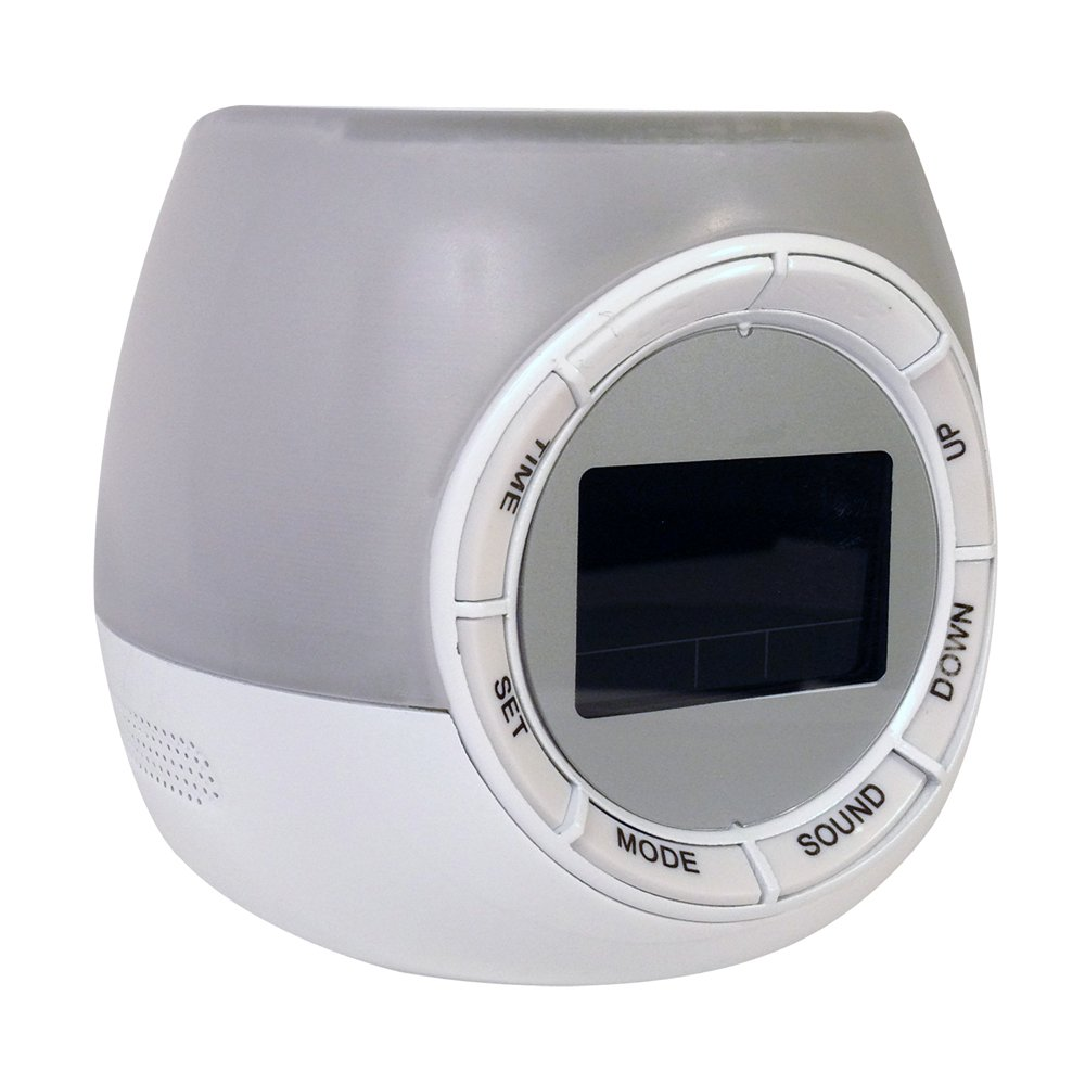 HealthSmart Mist O'Clock Ultrasonic Cool Mist Humidifier