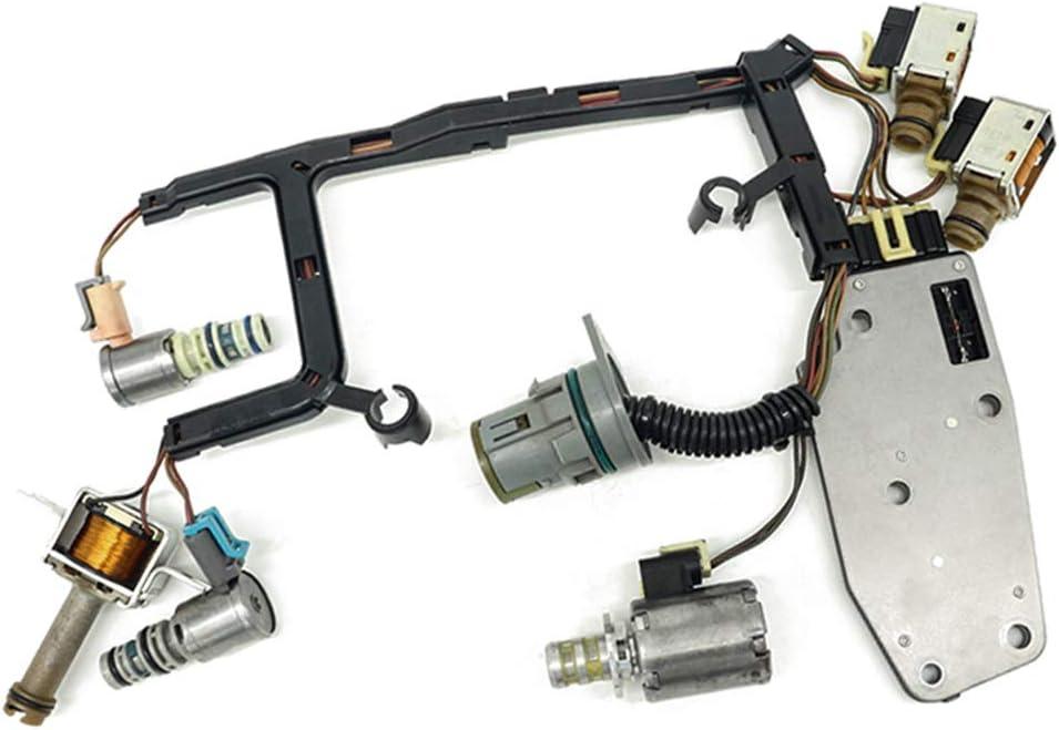 GJ 4L60E Model Automatic Transmission 7 Piece Master Solenoid Kit with Harness 2003-2005 EPC Shift TCC 3-2 PWM
