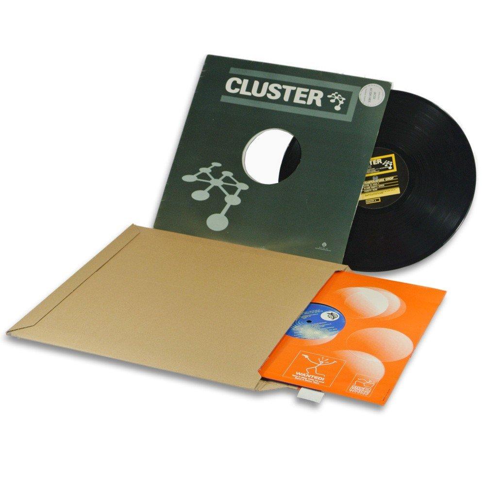 Lot de 50 Enveloppes carton vinyle 33 tours format 350x350 mm