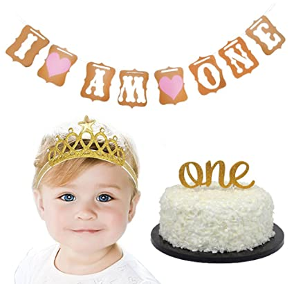 Image Unavailable Not Available For Color Baby First Birthday Cake Topper Kit