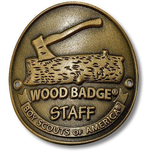 Badge Staff Hiking Stick Medallion