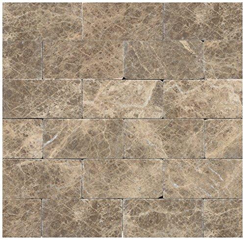 (Dal-Tile M71236TS1P Marble Tile EMPERADOR Light Tumbled x 11 7/8