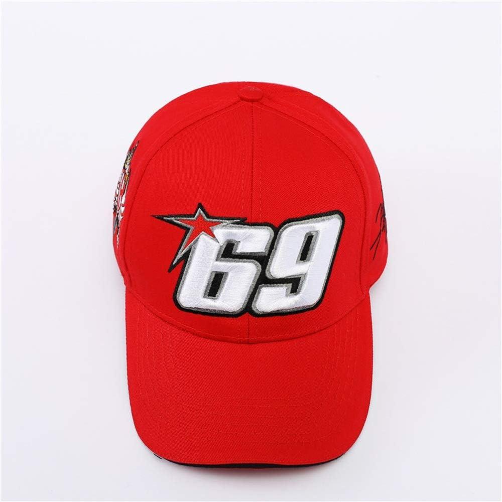 VIIMON 100/% Cotton Sport Cap Car Cycle Racing Hat Nick Heidefeldering 69 Baseball Cap Hats Men Gorra Racing 56-60cm