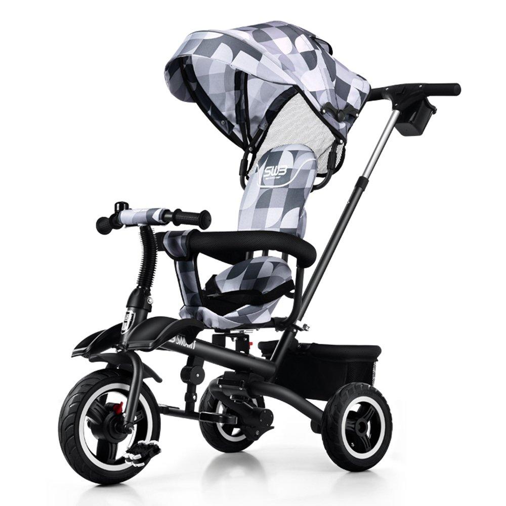 Bicicletas para nintilde;os Guo shop- shop- shop- Triciclo plegable de los nintilde;os, bici del bebeacute;, bici de los cabritos, carro de bebeacute; (Color : Rojo) 8aef33