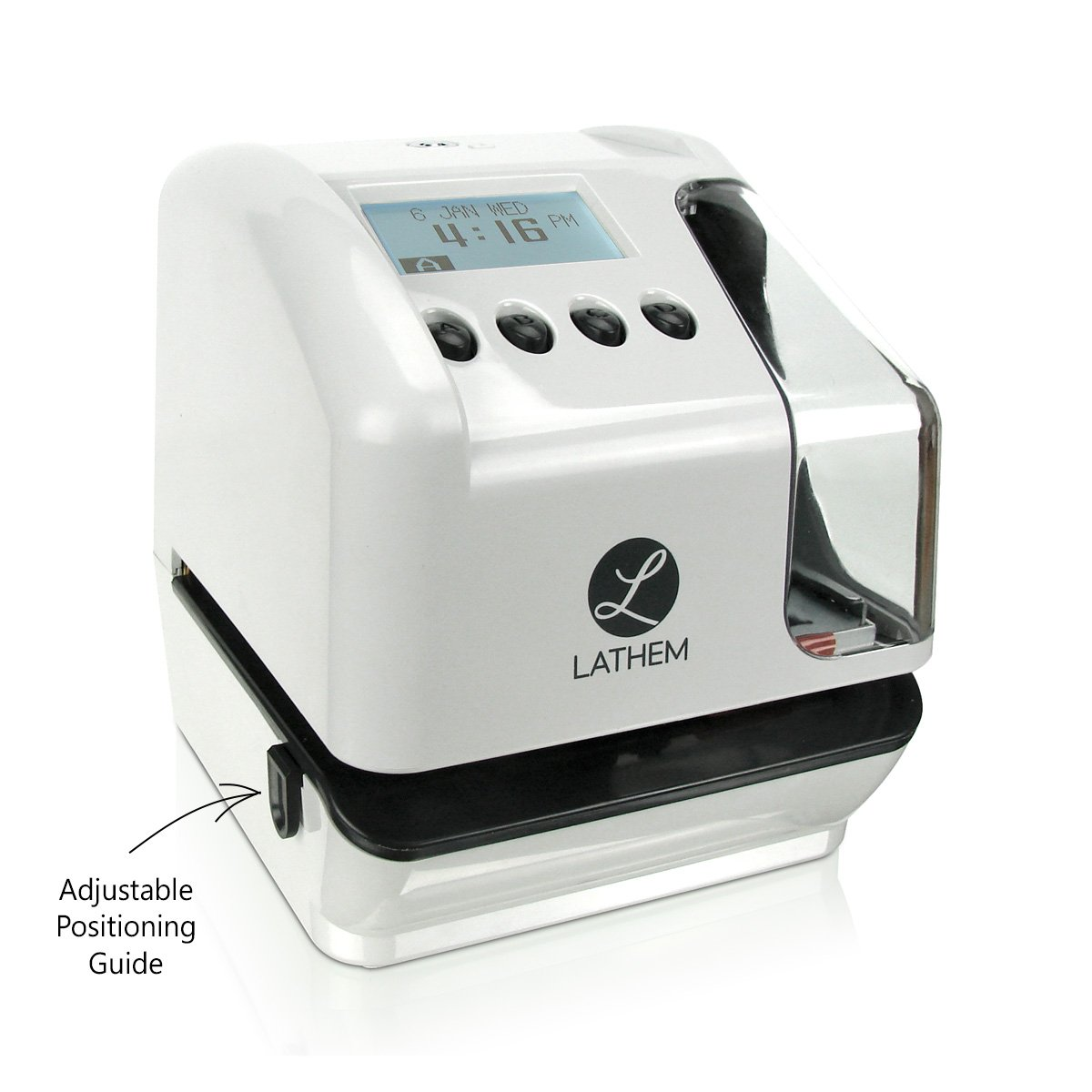 Lathem LT5000 Electronic Multi-Line Time, Date and Numbering Document Stamp, Can Be Wall Mounted (Screws Included) by Lathem (Image #3)