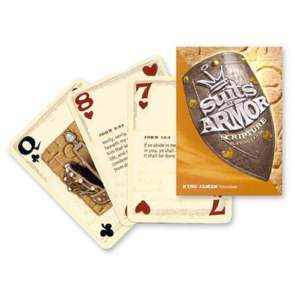 Revelation Playing Cards Suit Of Armor Scripture Cards KJV