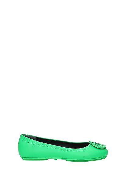 24ca2d2369f0 Tory Burch Ballet Flats Minnie Travel Ballet Women - Leather (37388315) 4 UK