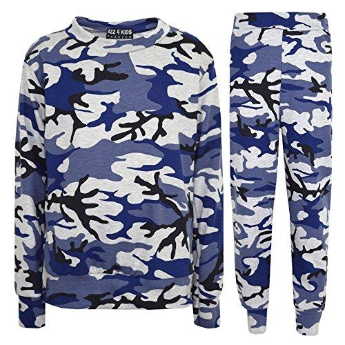 Mono os A 13 Ni de Loungewear Parte as Ni 8 5 Lounge 10 7 3 Edad inferior superior 4 os Ni A2z Traje 9 6 2 12 11 camuflaje Azul os corto wPCIqn