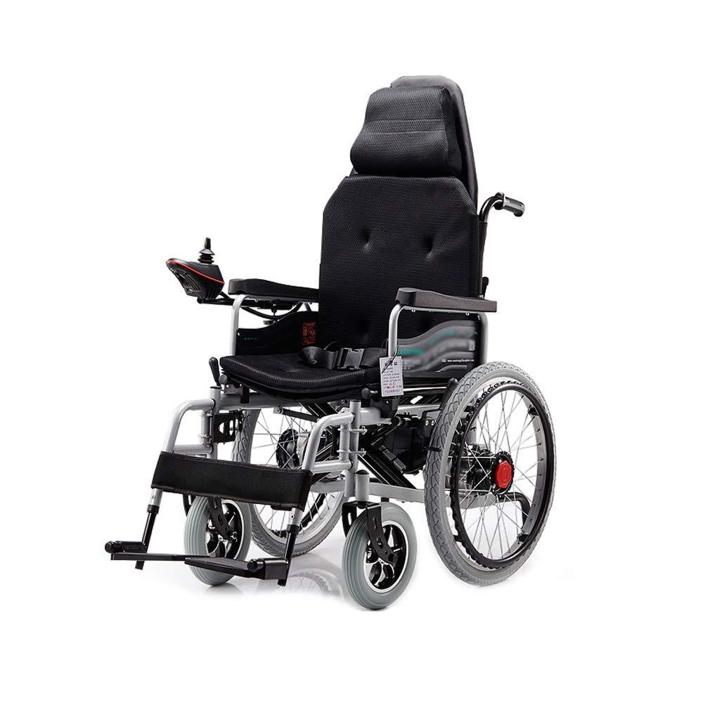 激安単価で HUA BEI 電動車いす、折りたたみ式高齢者高齢者四輪車椅子 黒、ヘッドレスト付、荷重100kg、EPBSブレーキシステム | BEI (色 | : 黒) 黒 B07GKZWP84, ホームセンターきたやま:44d2deb6 --- a0267596.xsph.ru