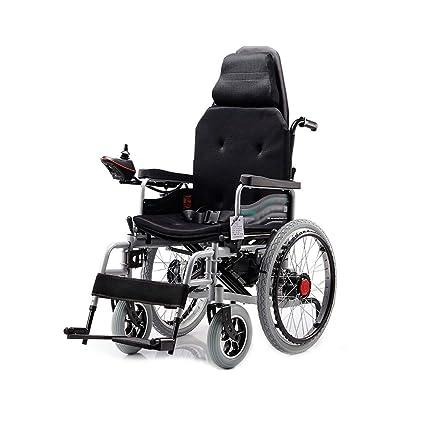 Silla de ruedas eléctrica, silla de ruedas de cuidado de cuatro ruedas con discapacidad inteligente