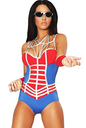 3WISHES u0027Web of Desire Costumeu0027 Sexy Super Hero Costumes for Women  sc 1 st  Amazon.com & Amazon.com: 3WISHES u0027Web of Desire Costumeu0027 Sexy Super Hero Costumes ...