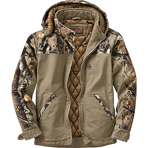 Sale!! Legendary Whitetails Men's Canvas Cross Trail Big Game Camo Workwear Jacket