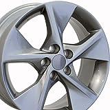 18x7.5 Wheel Fits Toyota - Camry Style Gunmetal Rim, Hollander 69605