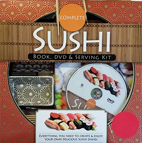 Complete Sushi Book, DVD, & Serving Kit