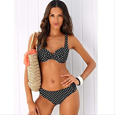 HUASE Bikini Bikini Set Traje de baño Mujer Traje de baño ...