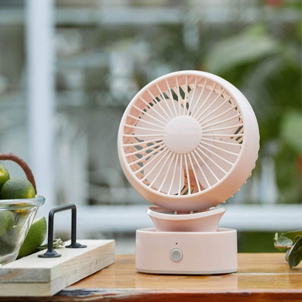 WWY USB Fan Personal Fan Portable Cooling Fan Table Fans Small Desktop Fan Mini Desk Fan
