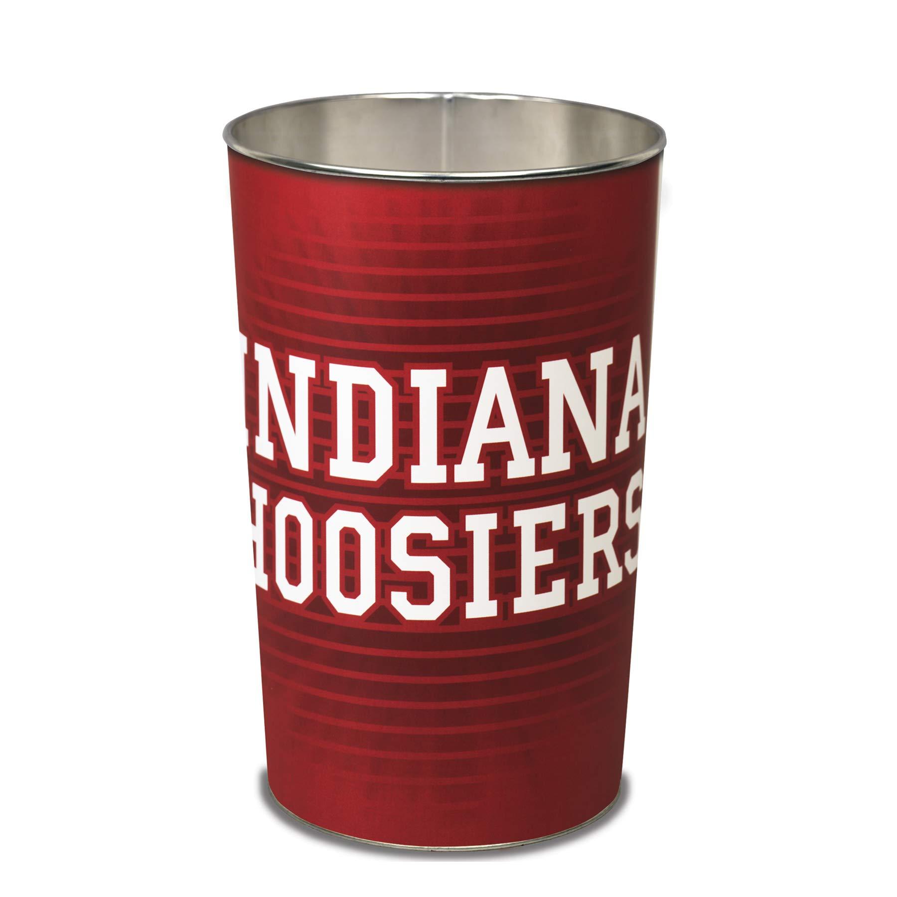 WinCraft NCAA Indiana Hoosiers Team Effort Indiana Hoosiers Wastebasketteam Effort Indiana Hoosiers Wastebasket, Multi, NA
