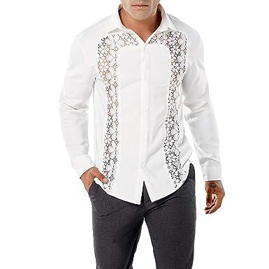 Inverno Miscela E Uomo Eleganti Camicia Camicie Risvolto Maniche Lunghe Fit Slim Confortevole Autunno NnO8Pw0kX