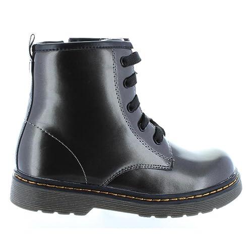 XTI Botines de Niña 54011 Metalizado Plomo Talla 32: Amazon.es: Zapatos y complementos