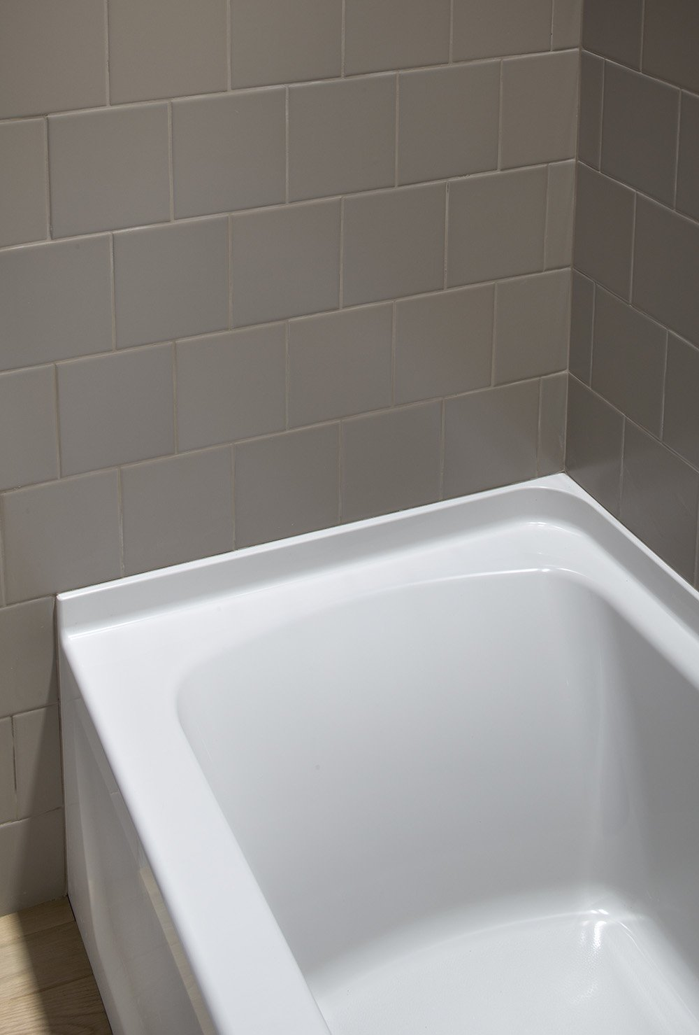 Sterling Ensemble Series 7117 Bath with Left-Hand Drain, 60 by 30 ...