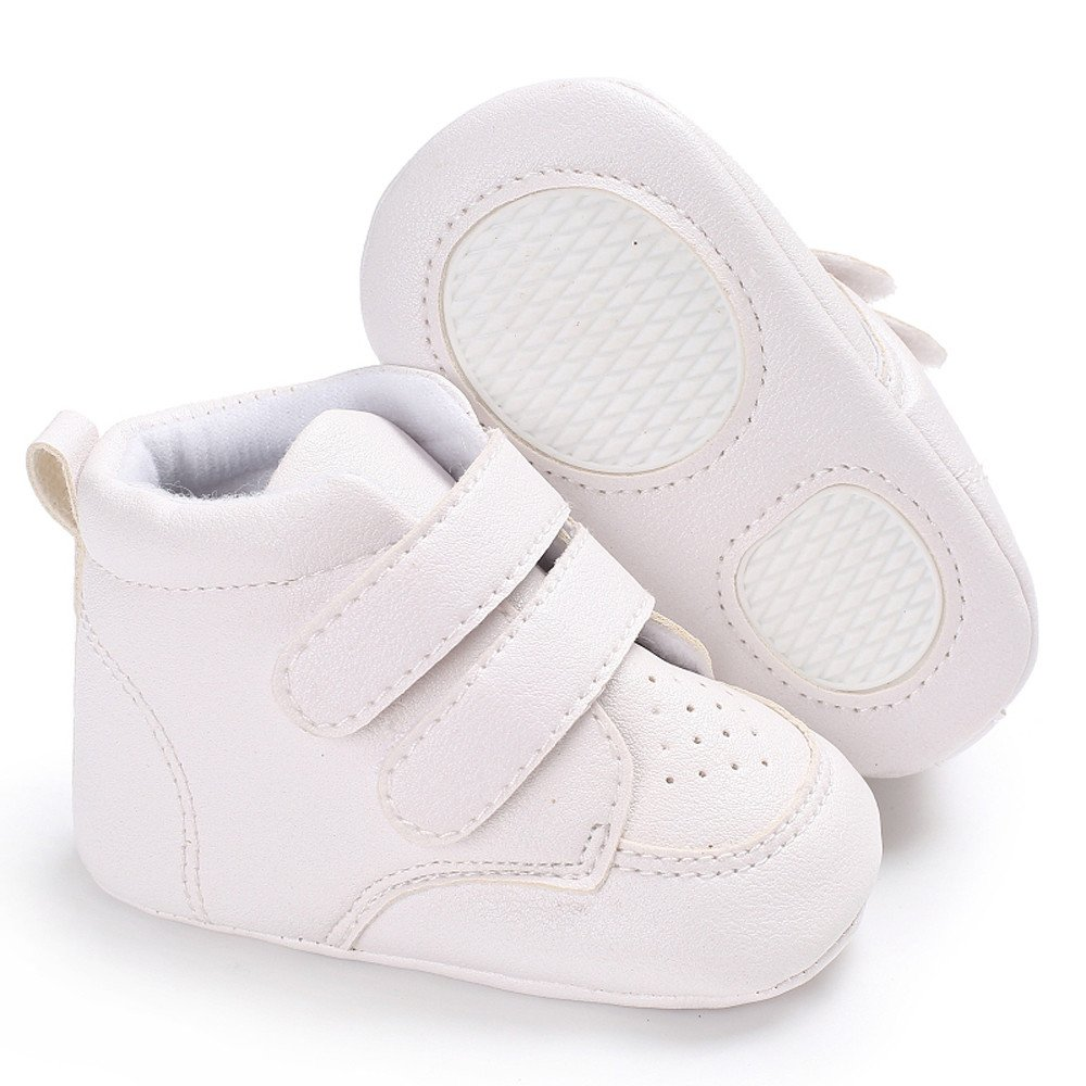 Baby Infant Shoes,Girl Boys Heart-Shaped Embroidery Boots Hight Cut Winter Warm Cotton Anti-slip Sneaker