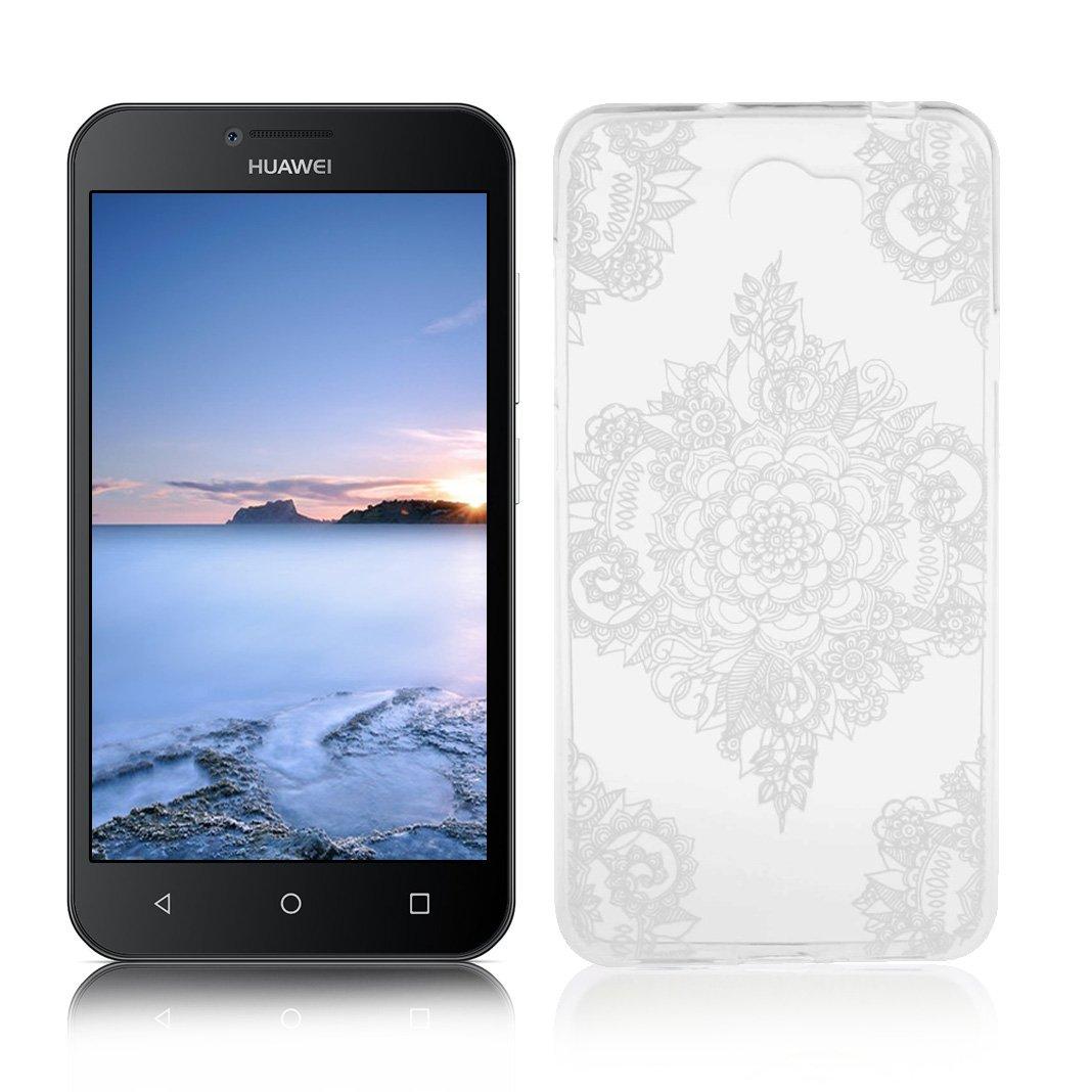OuDu Funda para Huawei Y5 II/Y5 2 Carcasa Protectora Caso Silicona ...