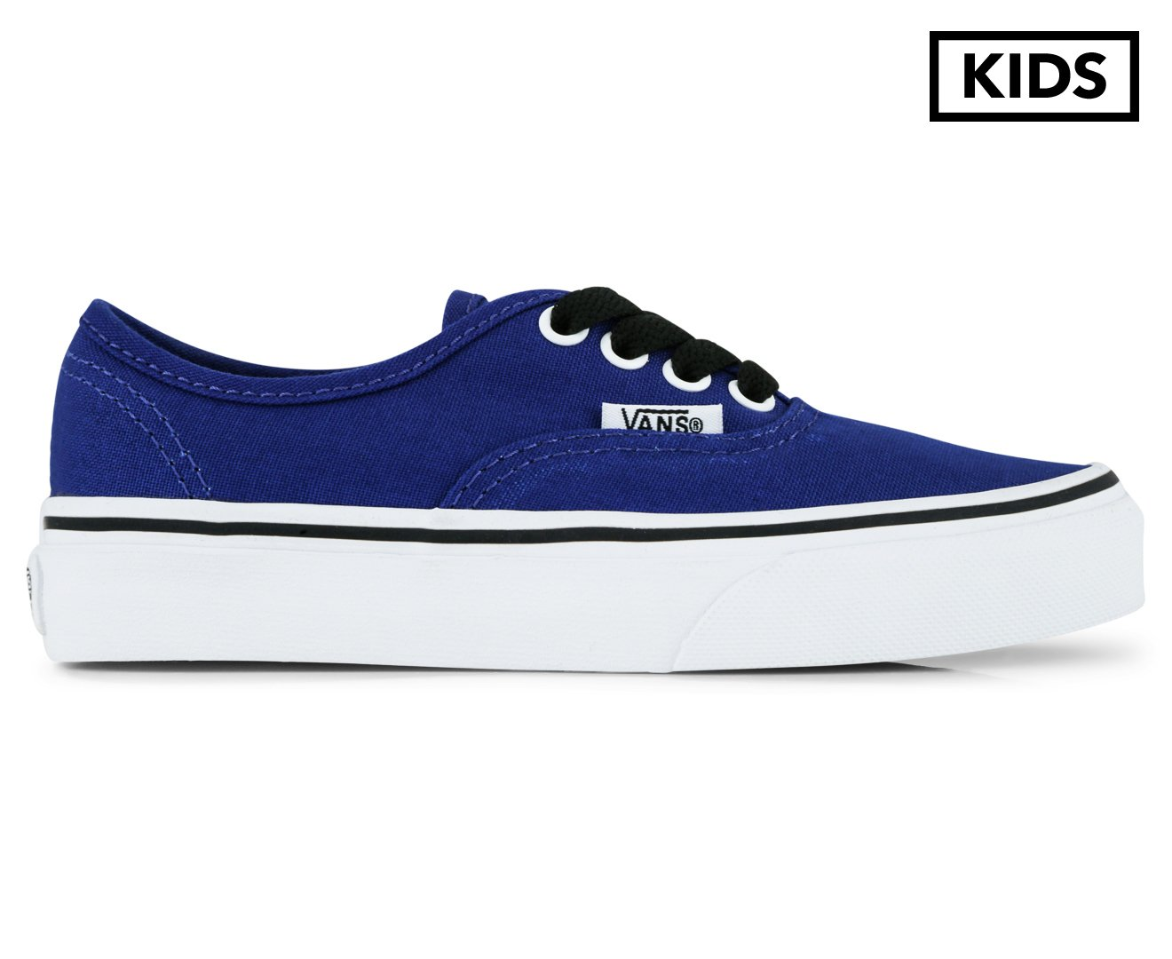 75999202417b Vans Kids  Authentic Sodalite Shoe Sodalite Blue True White  Amazon.com.au   Fashion