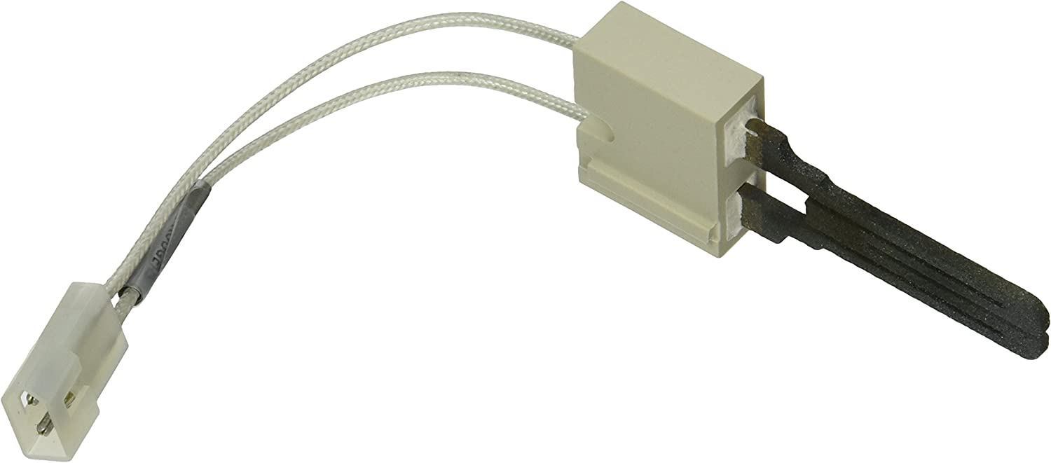 "White-Rodgers 767A357 Silicone Carbide 767A Series Hot Surface Ignitor with 5.25"" Long Leads"