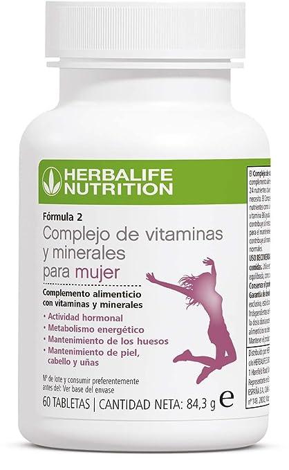 HERBALIFE F2 complejo de vitaminas y minerales para mujeres