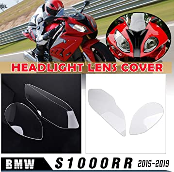 For B M W S1000rr 2015 2016 2017 2018 2019 Motorcycle Front Clear Headlight Lens Cover Lamp Housing Protective Covers S 1000rr S 1000 Rr Accessories Amazon De Auto