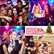 Vnina Disco Ball Dance Party Lights 3 W 7 Colors Mini Strobe Lighting Effects Gifts for Kids Birthday Decoration Karaoke Holiday House Celebration
