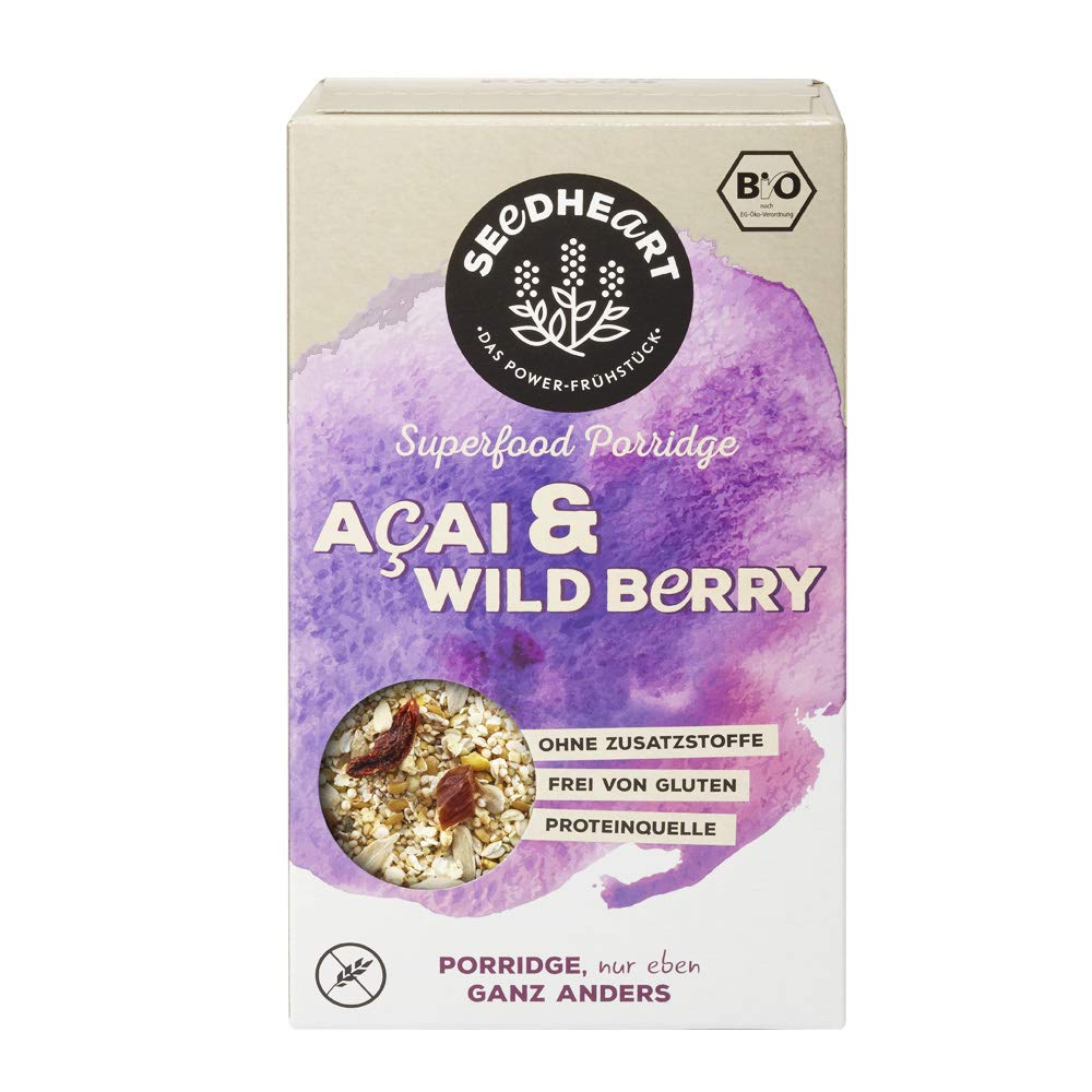 Porridge Acai Wild Berry