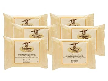 Canus Honey and Almond Goats Milk Soap, 5 Ounce Pack of 6