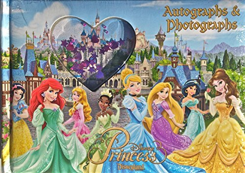 Disney Princess Autograph and Photo Book - Disneyland