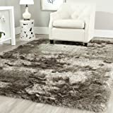 Safavieh Paris Shag Collection SG511-9292 Sable Polyester Area Rug (2' x 3')