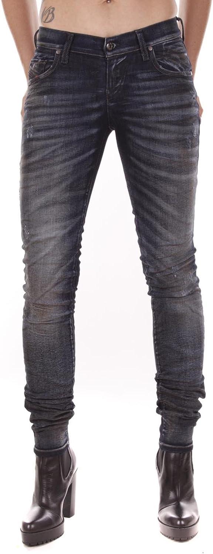 Diesel Jeans GRUPEE R376F 01 Slim Light Blue Distressed RRP190€