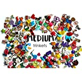 Medium Mixed I Spy trinkets for I spy Bag/ Bottle, Speech Therapy, Language Objects, Miniatures, no Doubles, 2-4cm, Set of 20/50/100/200 (50 trinkets)
