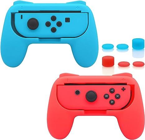 Amazon.com: FastSnail Grips for Nintendo Switch Joy-Con ...