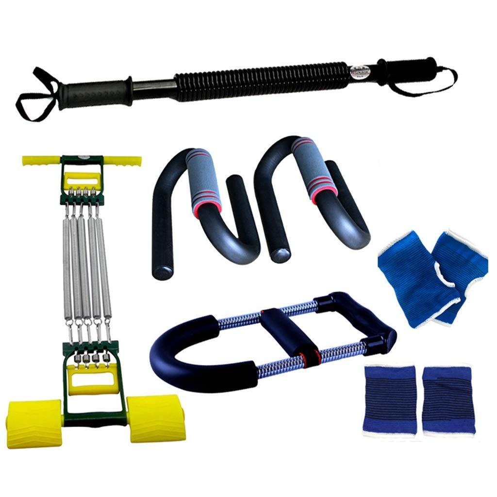 家庭用スポーツ用品、フィットネス機器セット多機能胸筋トレーニング腹部ホイールメンズアームプーラーの組み合わせ 40KG A B07HD9Z28H