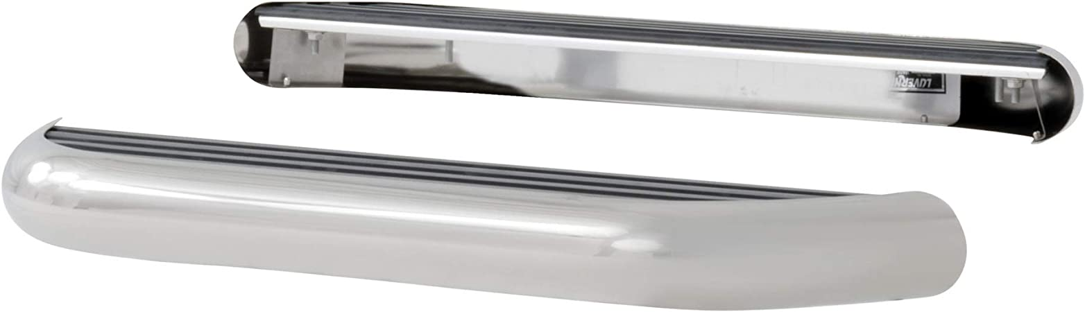 2500 GMC Savana 1500 3500 LUVERNE 575036-570340 MegaStep 36-Inch Cargo Van Running Boards with Non-Skid Rubber Treads for Select Chevrolet Express