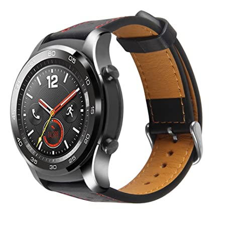 Amazon.com: XIHAMA Strap for Huawei Watch 2 Pro,22mm Leather ...