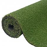 SKB Family Artificial Grass 3.3'x49.2'/0.8''-1'' Green Home Office Garden Plants Decor