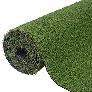"SKB Family Artificial Grass 3.3'x49.2'/0.8""-1"" Green Home Office Garden Plants Decor"