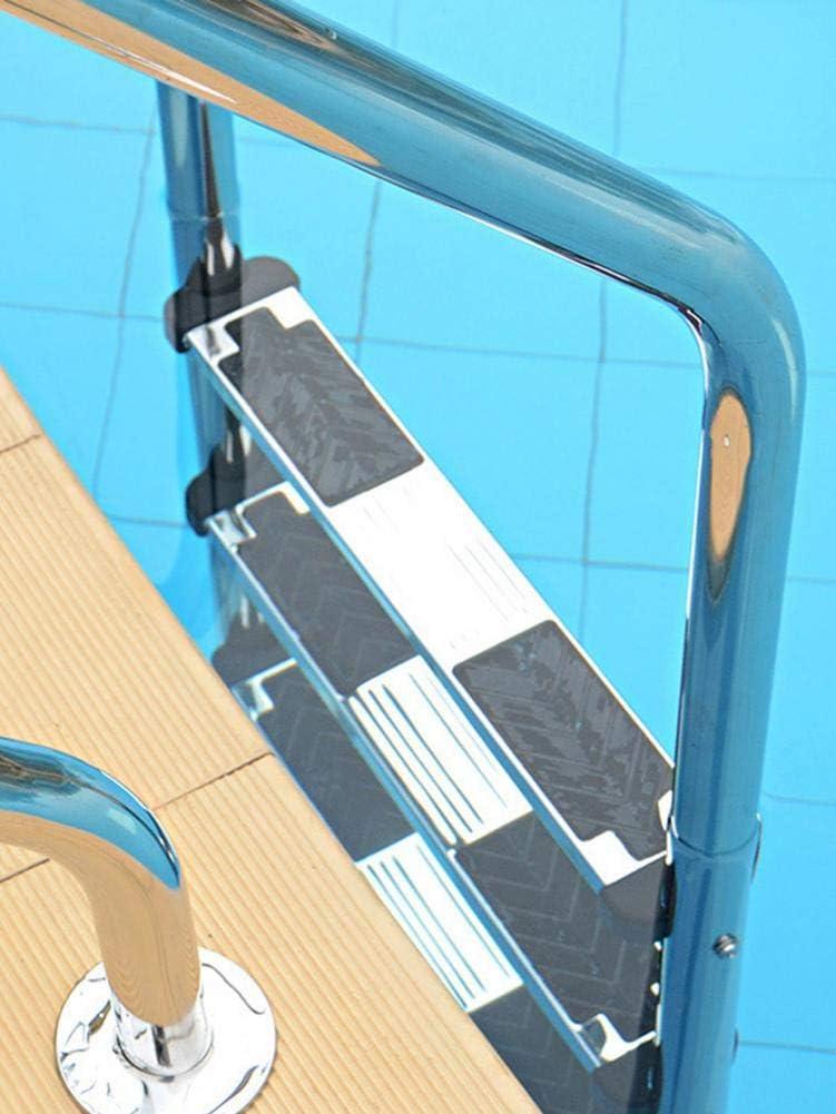 succeedw Pedal De Piscina, Pedal De Escalera Móvil Pedal De Acero Inoxidable 304 Piscina Bajo El Agua, con Pasos Antideslizantes: Amazon.es: Hogar