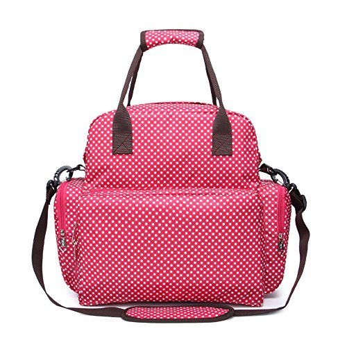 f879343e2 yuoi multifuncional para bebé bolsa de pañales mochila de nylon impermeable  gran capacidad Smart organizadores ligero