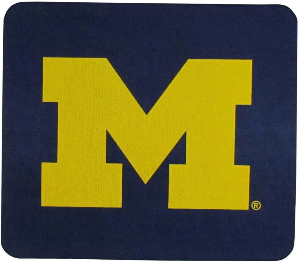 """NCAA Michigan Wolverines Mouse Pads, 8"""", Blue"""