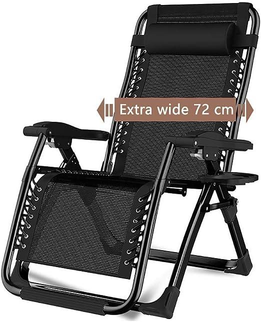 ZYFTYI Chaise Pliante réglable de Chaise Longue de Patio