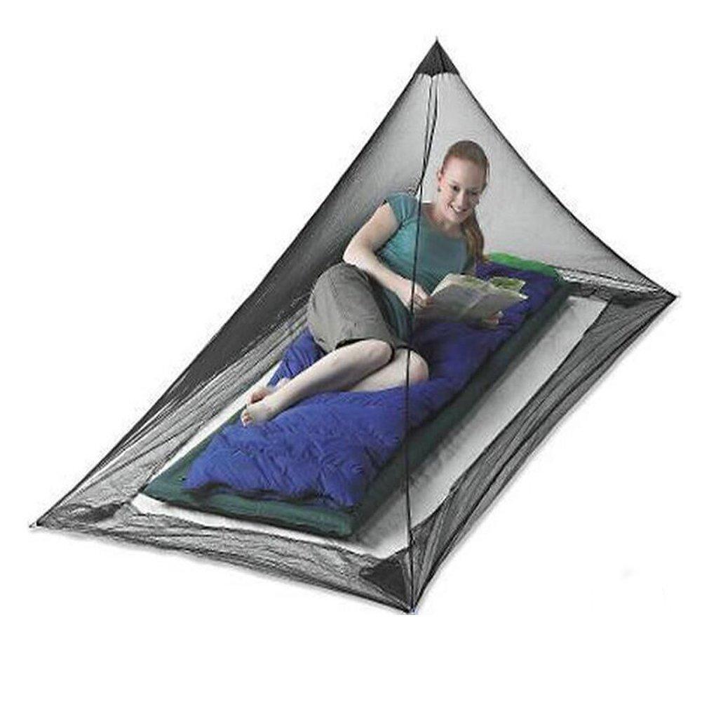 220 * 120 * 100 cm ANGTUO solo tri/ángulo mosquitera para acampar Mosquiteros al aire libre